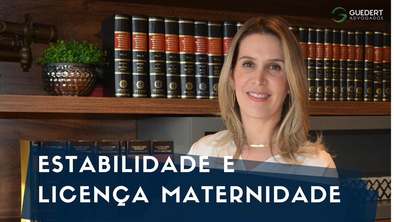 Estabilidade da gestante e a licença maternidade: entenda suas diferenças