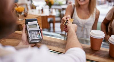 O pagamento com cartão na modalidade crédito é considerado pagamento à vista?